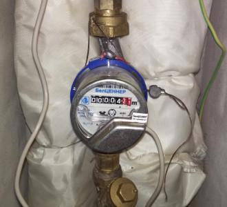 Диспетчеризация счетчиков воды